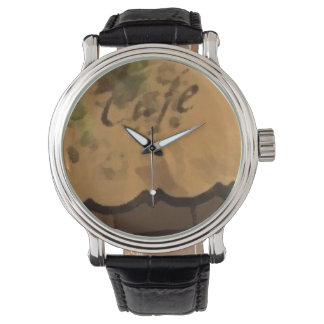 Retro Custom COFFE Watch