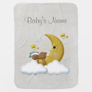 Retro Custom Personalized Baby Blanket