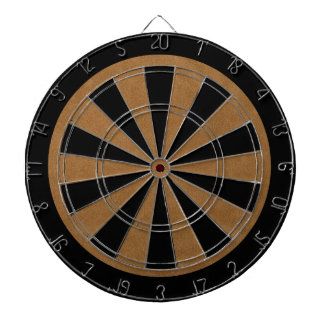 Retro Custom Suede Dartboard