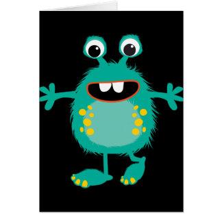 Retro Cute Monster Cards