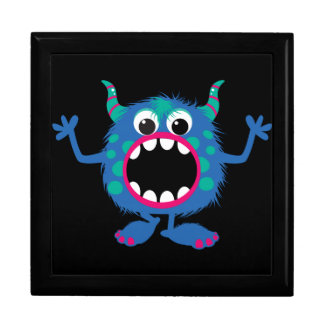 Retro Cute Monster Gift Boxes