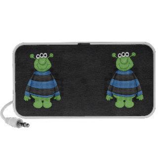 Retro Cute Monster Speakers