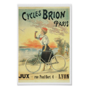 Old Advertisements Bicycle Posters & Photo Prints | Zazzle AU