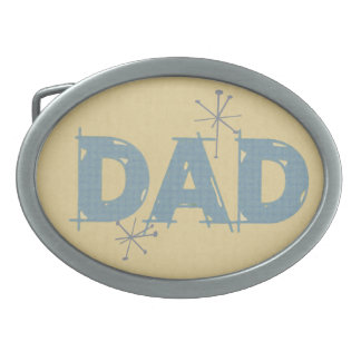 Retro Dad Father's Day Belt Buckle