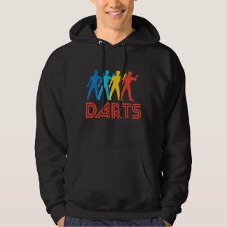 Retro Darts Pop Art Hoodie