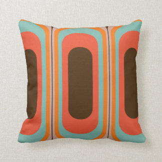Retro decorative pillow 70s 60s style
