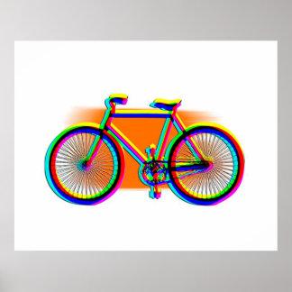 Retro Design Bike customized Poster