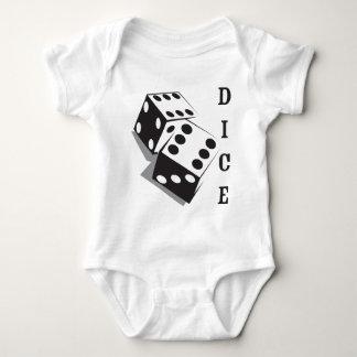 Retro Dice Baby Bodysuit