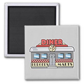 retro diner design fridge magnets