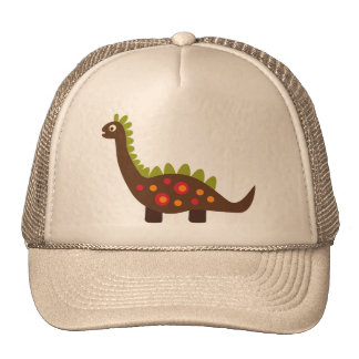 retro dinosaur hat