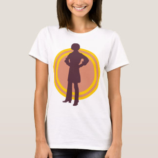 Retro Disco 70's silohuette t-shirt