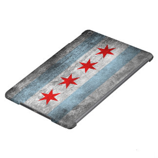 Retro Distressed Chicago Flag iPad Air Cover