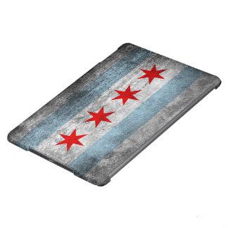 Retro Distressed Chicago Flag iPad Air Cover