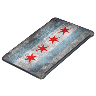 Retro Distressed Chicago Flag iPad Mini Cover