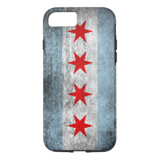 Retro Distressed Chicago Flag iPhone 8/7 Case