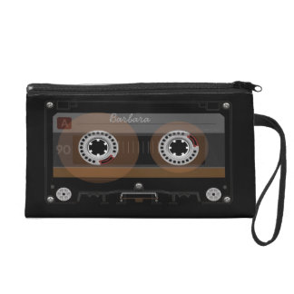 Retro DJ Music Cassette MixTape Cosmetic Bag