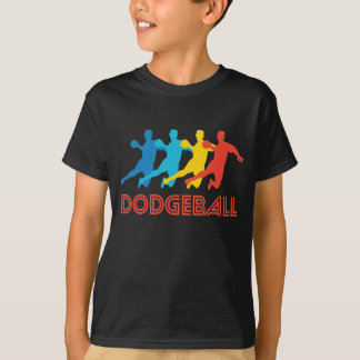Retro Dodgeball Pop Art T-Shirt
