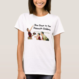 Retro Domestic Goddess T-Shirt