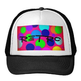 Retro Dots Neon Trucker Hat