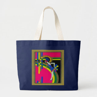Retro Dream ~ Bag Vintage Modern Art Deco Pink