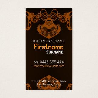 Retro Electro Music Business Card