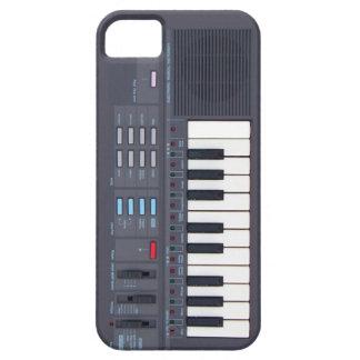 Retro Electronic Music Keyboard iPhone 5 Case