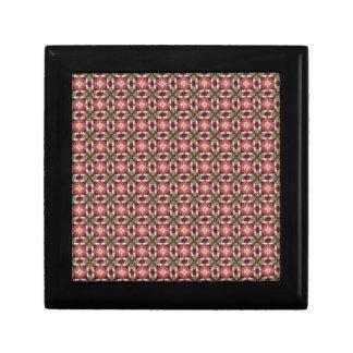 Retro embroidery gift box