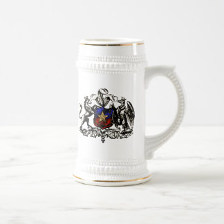 Retro Escudo do Chile Grunge Chilean gifts Beer Stein