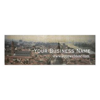 Retro Europe Old Town Mini Business Card