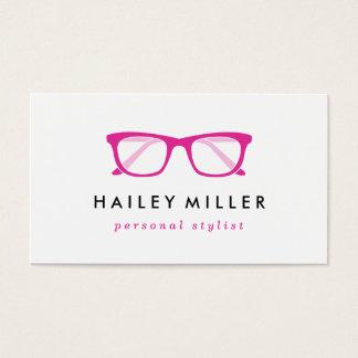 Retro Eyeglasses Stylish Business Card