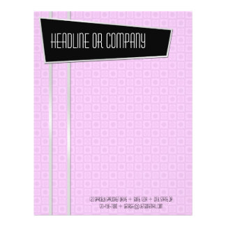 Retro-Fabulous 2-sided Letterhead 21.5 Cm X 28 Cm Flyer