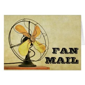 Retro Fan Mail Note Card