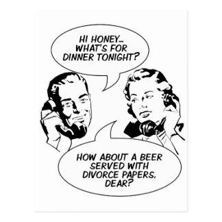 Retro Feminist Humor postcards