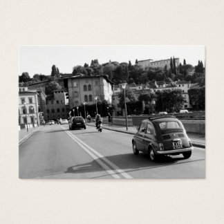 Retro Fiat 500 in Florence Business Card