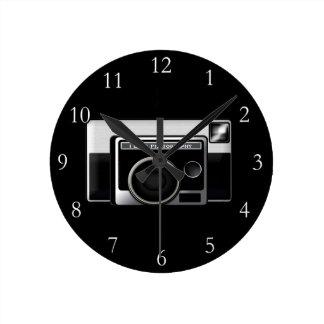 Retro Film Camera Clock