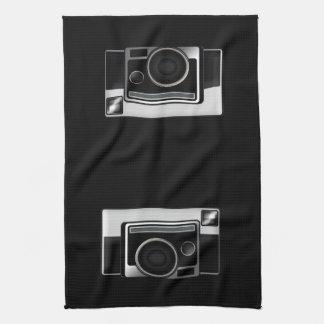 Retro Film Camera Tea Towel