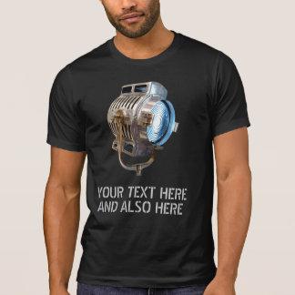 Retro Film Lamp Distressed 'Gaffer' T-Shirt