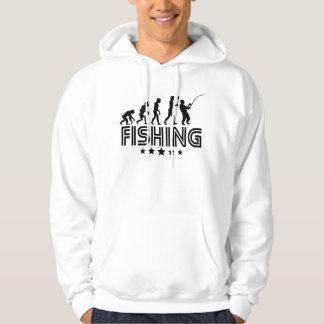 Retro Fishing Evolution Hoodie