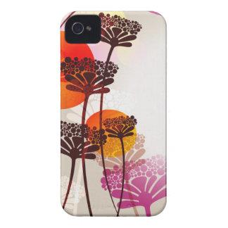 Retro floral case
