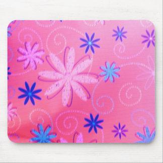 Retro Floral Design MousePad