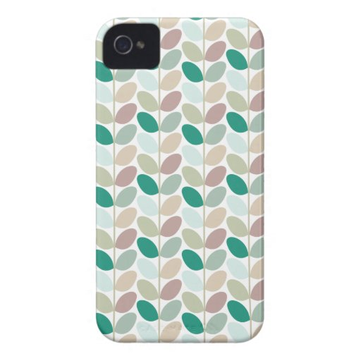 Retro Floral Patterned Case iPhone 4 Cover