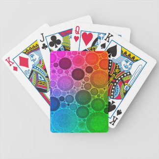 Retro Florescent Pattern Card Deck