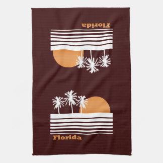 Retro Florida Kitchen Towel