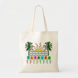 Retro Florida Tote Bag
