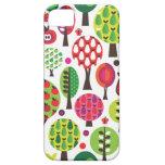 Retro flower apple butterfly pattern iphone case iPhone 5 case