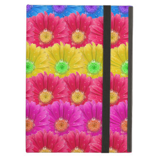 Retro Flower Blossoms Pattern Background iPad Air Case