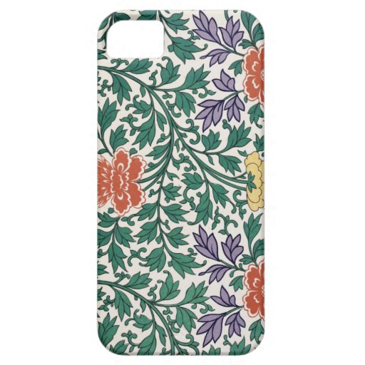 Retro Flower Pattern iPhone 5 Cover