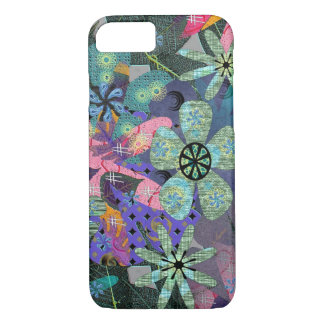 Retro Flowers iPhone 7 Case