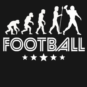 c2fa2d2fa67 Football Evolution T-Shirts   Shirt Designs
