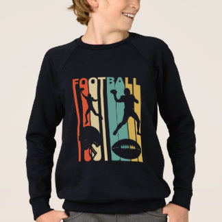 Retro Football Players Sweatshirt